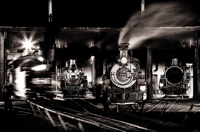 """Романтика железных дорог в серии """"Lost Tracks of Time"""". Фотограф Matthew Malkiewicz"""
