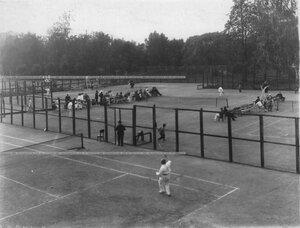 Теннисные площадки Крестовского Лаун-теннис клуба