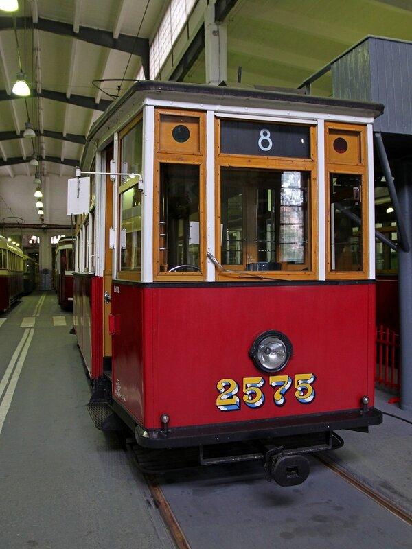 Трамвайный вагон МСО-4 №2575 в музее городского электрического транспорта IMG_8746