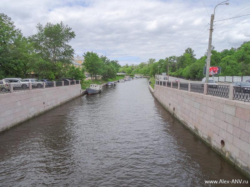 Река Карповка.