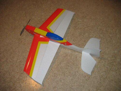 Макет самолёта из пенопласта своими руками 26