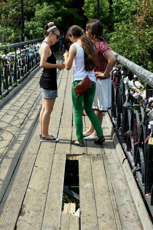 Провал на Парковом мосту