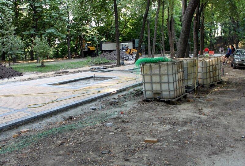 Реконструкция Владимирской горки