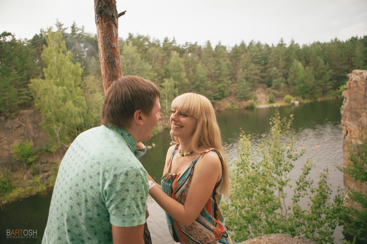 Предсвадебная съемка Елена и Сергей
