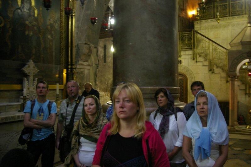 День шестой. Храм Воскресения. Иерусалим. Израиль. 2013.