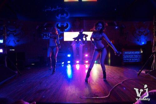 два дня в клубе ресторане Фараон со светодиодными пикселями RGBW виджей VJinskiy