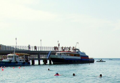 В Кабардинке, лето, фотографии Алексея Значкова