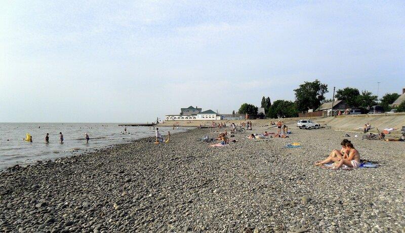 Лето, у моря Азовского