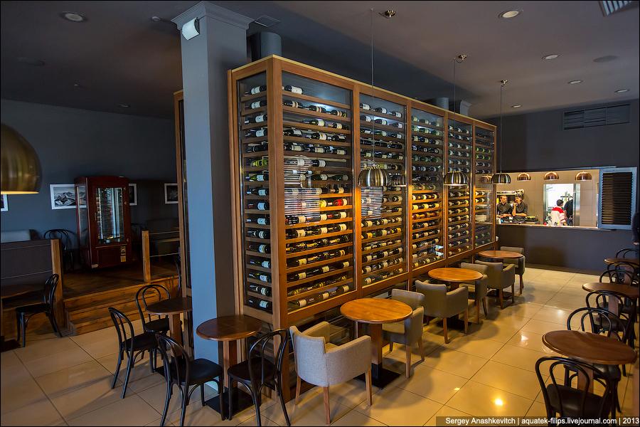 Как хранится вино в ресторанах