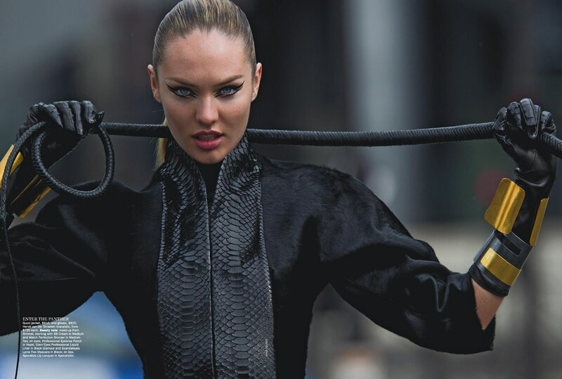 Candice Swanepoel / Кэндис Свейнпол в журнале Vogue Australia, июнь 2013 / фотограф Hans Feurer