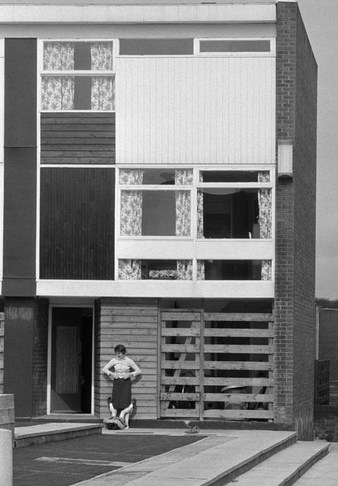 ENGLAND. Horden New Town, 1961.