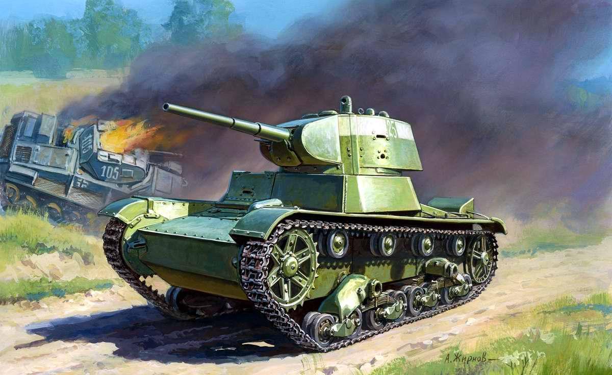Советский легкий танк Т-26 (Андрей Жирнов)