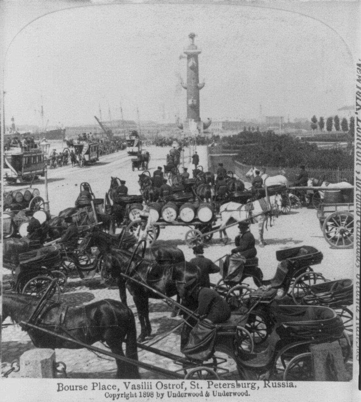 Васильевский остров, 1898