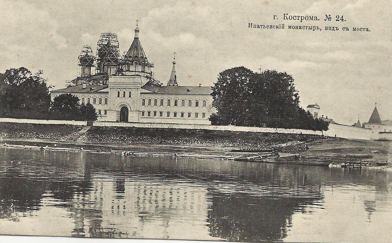 Ипатьевский монастырь, вид с моста