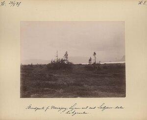 28.7.1887. Берег озера Сейтярин с долиной на заднем плане