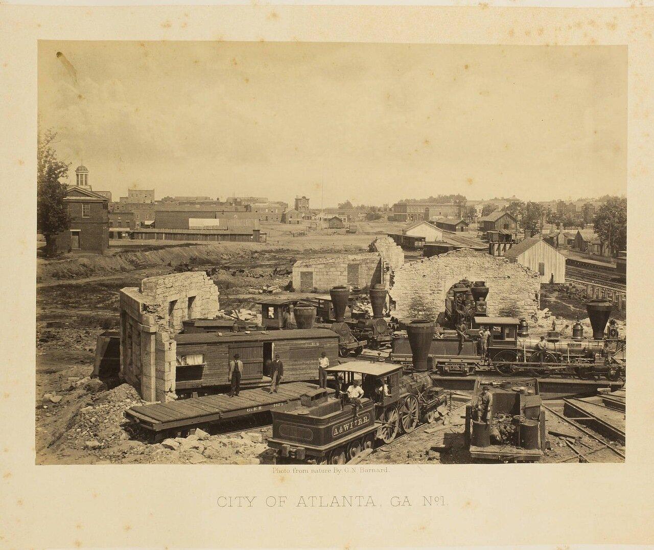 Атланта, Джорджия. №1