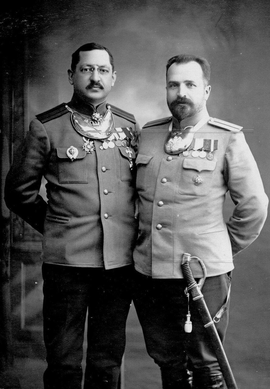 Полковник Семен Иванович Назимов и его брат капитан Павел Иванович Назимов