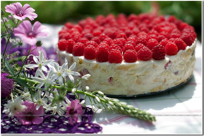 торт малиновый звон фото рецепт