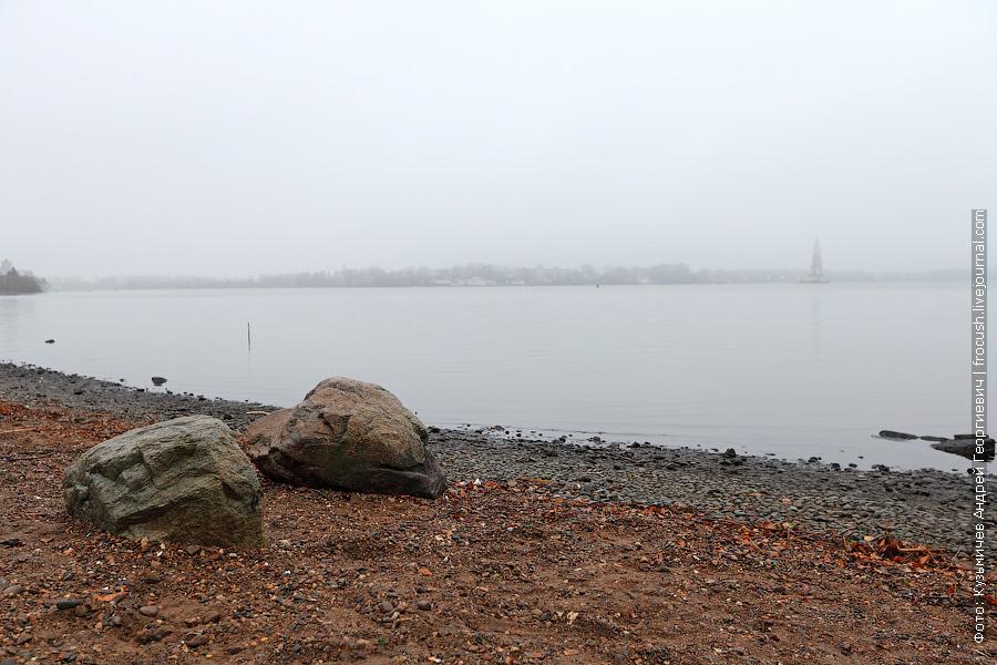 Волга в Калязине
