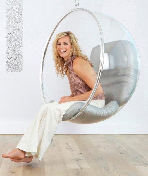 Кресло-шар (Bubble Chair) от Ээро Аарнио