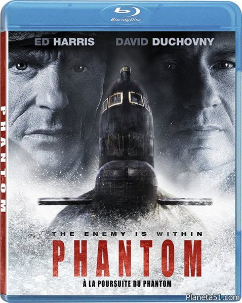 Фантом / Phantom (2013/BDRip/HDRip/DVD9) [Лицензия]