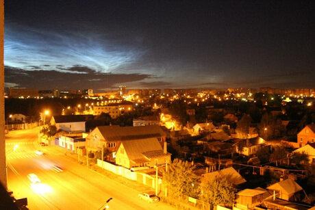 Необычное явление в небе над Челябинском