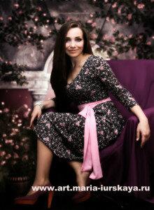 Мария Юрская в эфире передачи «Гостиная онлайн»