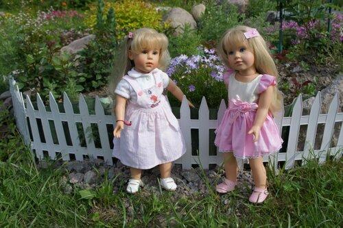 Летние прогулки на даче. Куклы Готц