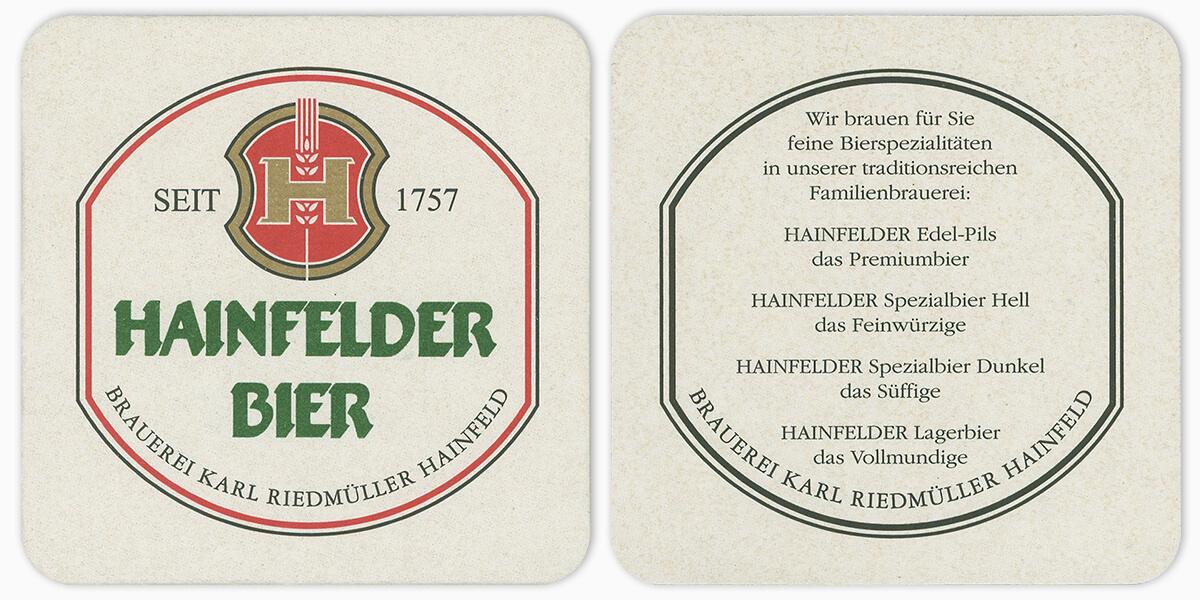 Hainfelder Bier #147