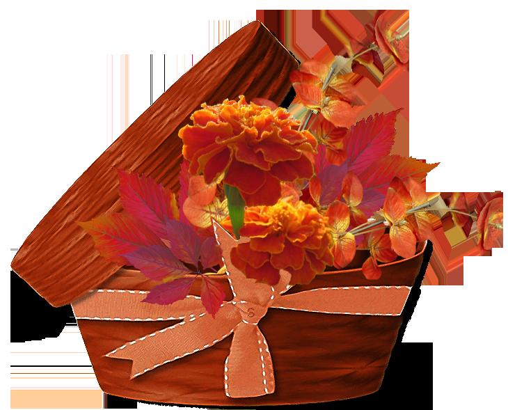 Осенний букет для открытки, днем рождения