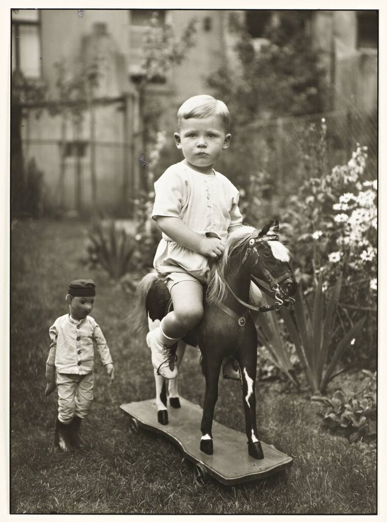 Middle-class Child c. 1925, printed 1990 by August Sander 1876-1964