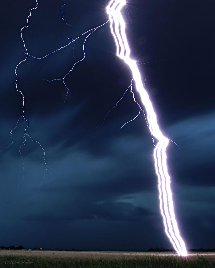 Повреждение оборудования от попадании молнии