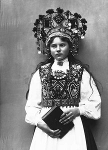 Сказочные норвежские невесты 19 века (17 фото)