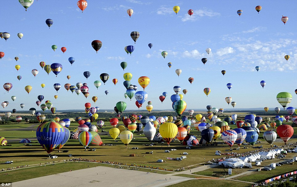 Лотарингский всемирный фестиваль воздушных шаров 2013 год
