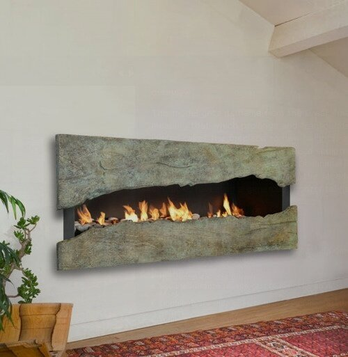 Современные камины в интерьере