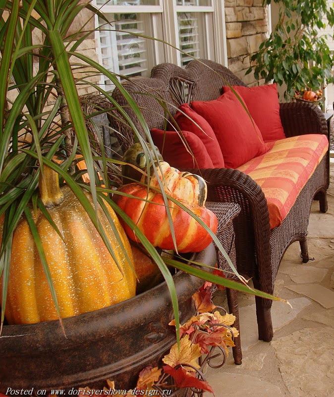 тыквы и диван