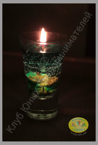 Мастер класс по изготовлению гелевых свечей своими руками.