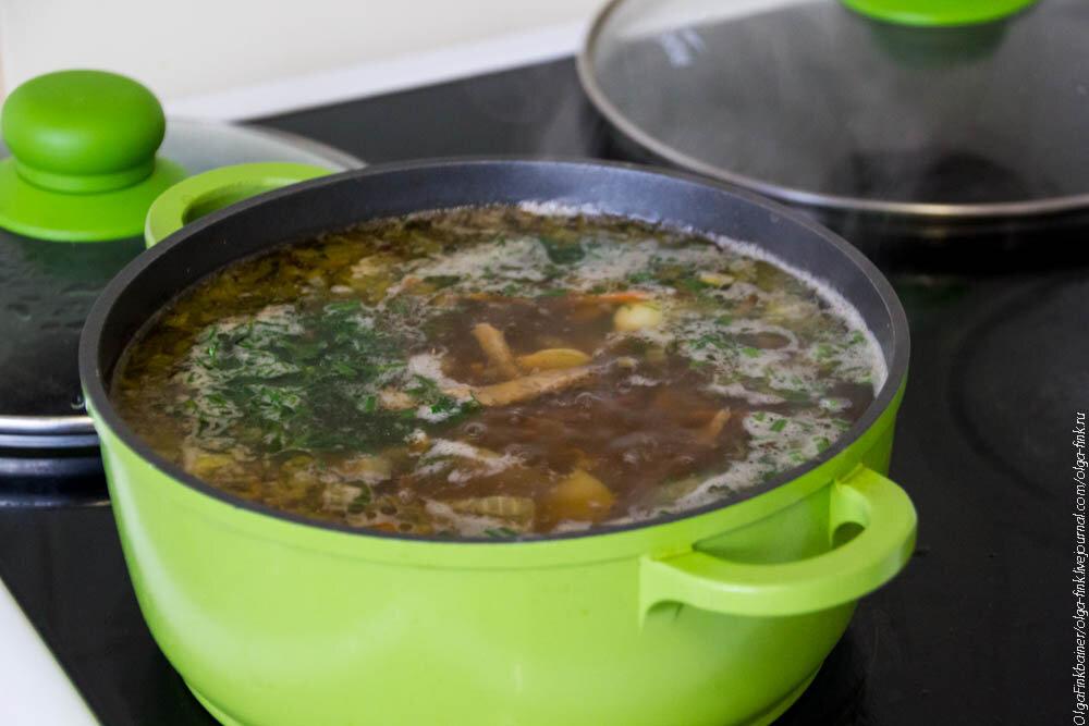 рецепт солянки с грибами супом
