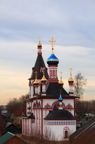 Переславль-Залесский. Церковь Знамения Пресвятой Богородицы