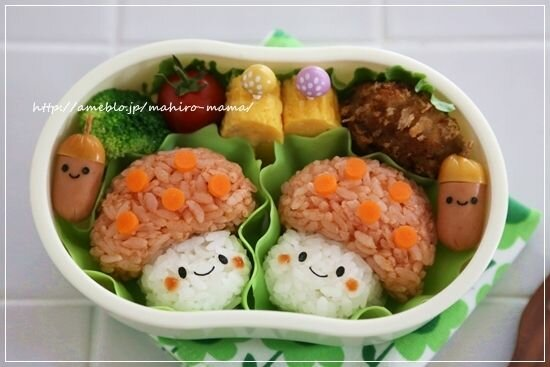 украшение детских блюд