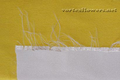 ПВС и желатин для цветов из ткани.