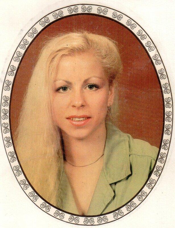 Переводная картинка из ГДР девушка 1986