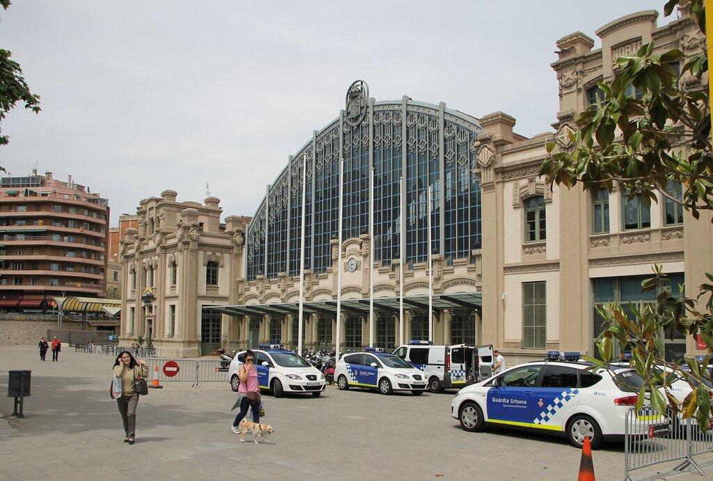 Barcelona. North station. Estació del Nord