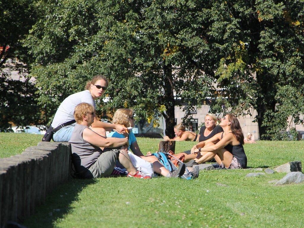 Осло. Парк Контрэскарет (Kontraskjæret)