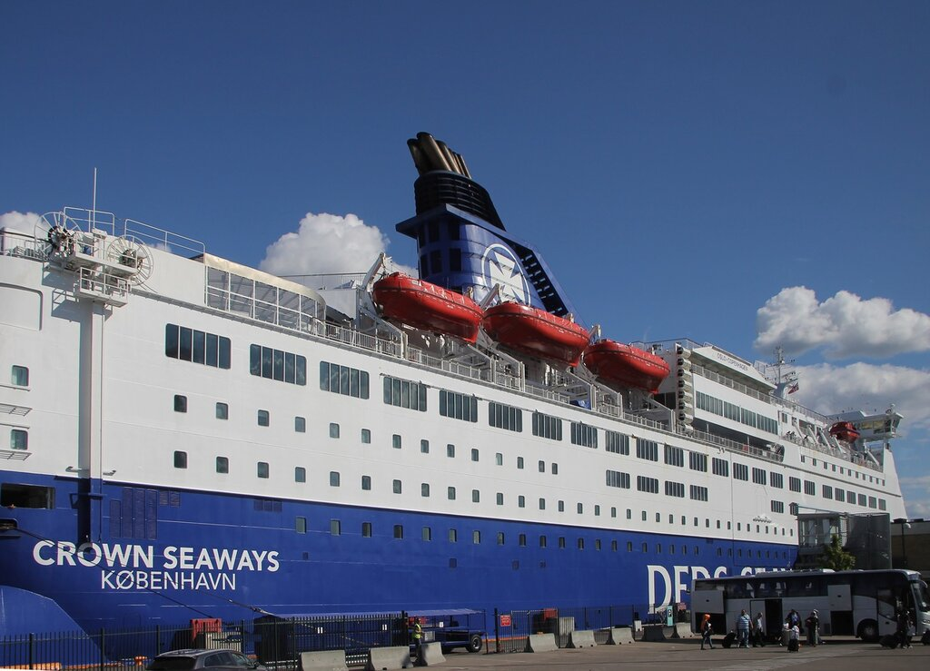DFDS Crown Seaways ferry, Oslo-Copenhagen