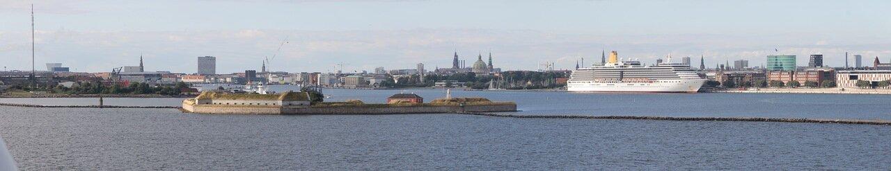 Копенгаген, Форт Три короны,  Copenhagen,  Trekroner fort