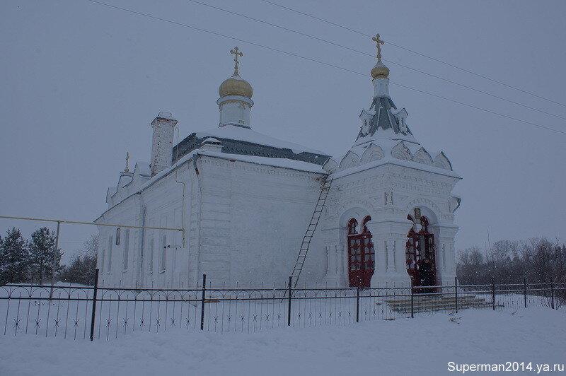 "усадьба ""Сима"" - Храм Димитрия Солунского"