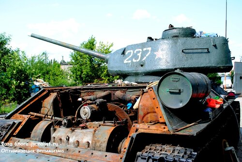 луганский танк т 34