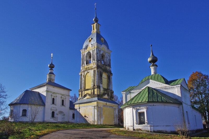 Знаменская и Ризоположенская церкви