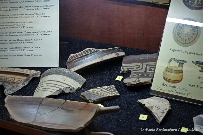Археологический музей СГУ, Саратов, VI корпус, 13 октября 2013 года